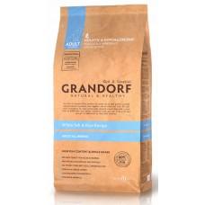 Сухой корм Grandorf  - White Fish & Rice Adult All Breeds (Белая рыба с рисом для взрослых собак всех пород) - 1 кг