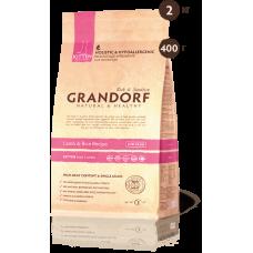 Корм Grandorf для котят: ягненок с рисом - 400 г