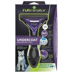 FURminator M/L для больших кошек c короткой шерстью