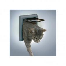 Дверца для кошки 2 позиции серая