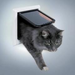 """Дверца для кошки """"FreeCat de Luxe"""" 17,7 х 18,7 см"""