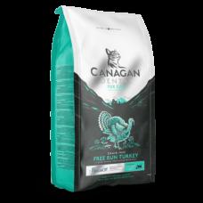 CANAGAN Grain Free Dental корм для кошек всех возрастов и котят, Индейка для ухода за полостью рта - 4 кг