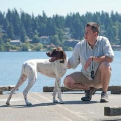 Дистанц. система дрессировки для больших собак, 100 м