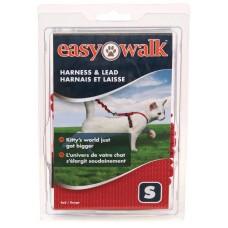 Шлейка прогулочная для кошек Easy Walk™- мал.красная