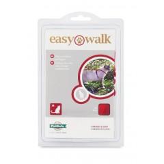 Шлейка прогулочная для кошек Easy Walk™- сред.красн.